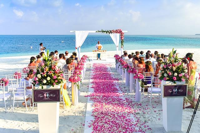 חתונה על הים, תנו לרומנטיקה מהסרטים להתפרע!