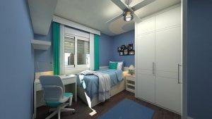 חדרי ילדים ונוער מעוצבים