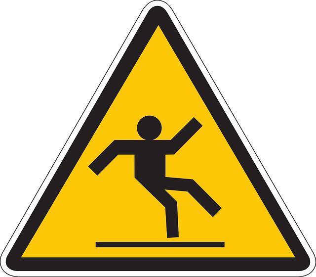 סכנת החלקה – איך להימנע מזה