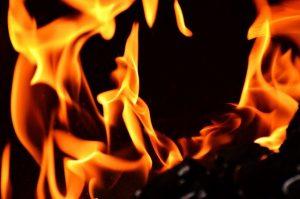 מתקן אש לגינה