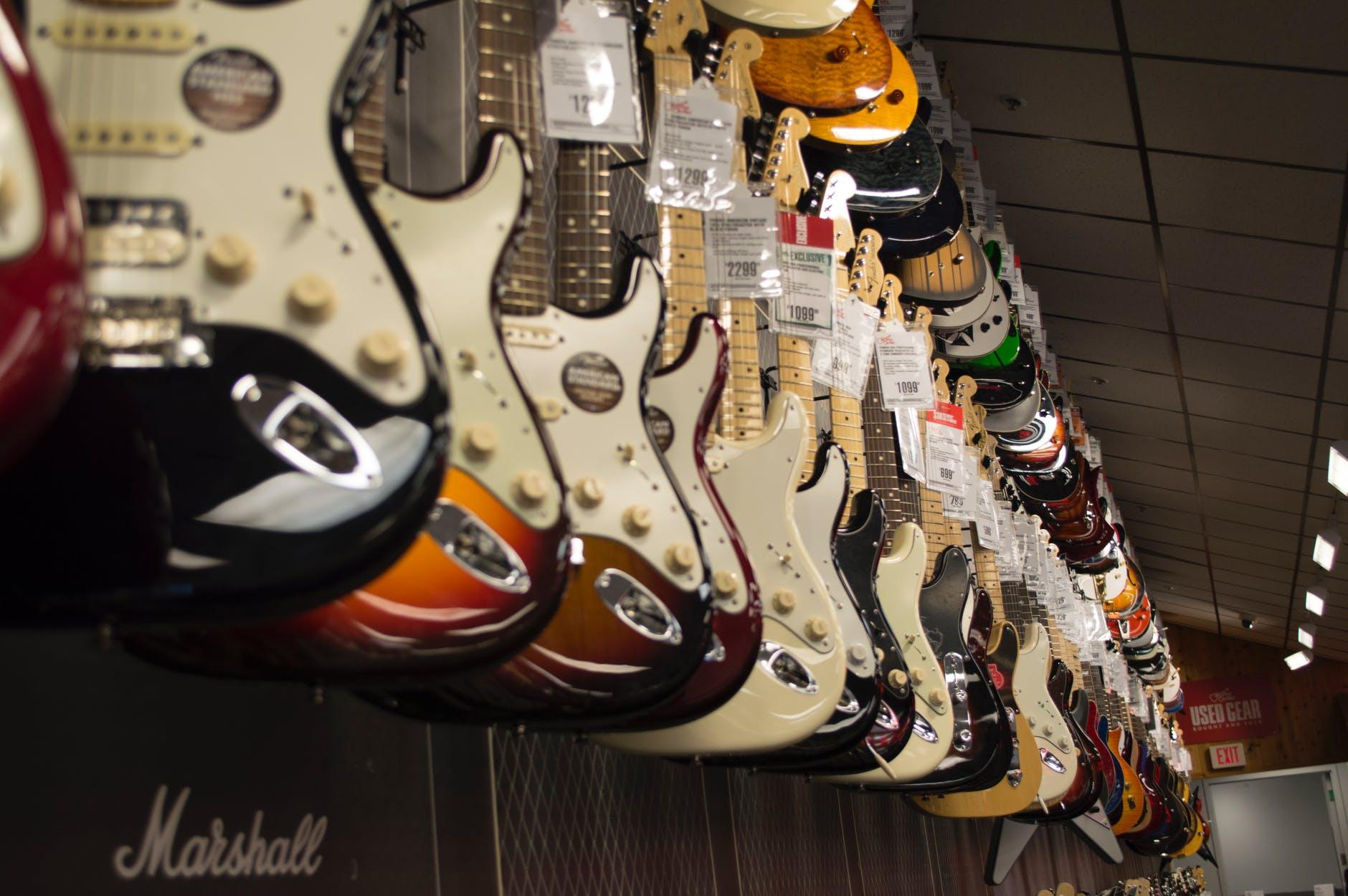 מה ההבדל בין סוגי המפרטים לגיטרות?